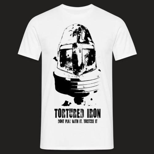 KNIGHT BLACK png - Men's T-Shirt
