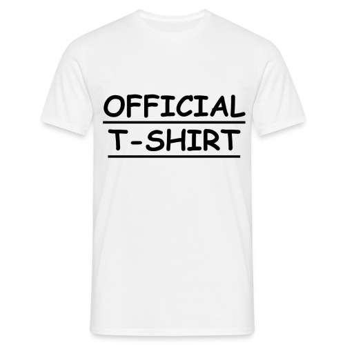 Official - T-shirt Homme