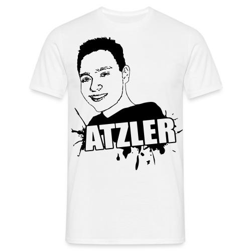 atzler vektor motiv transparent - Männer T-Shirt