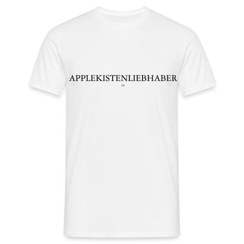 Applekistenliebhaber Apfelkiste apple macintosh - Männer T-Shirt