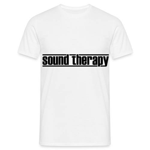 Sound Therapy (black) - T-shirt herr