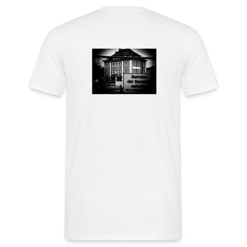 Künstlerhaus Betreten - Männer T-Shirt