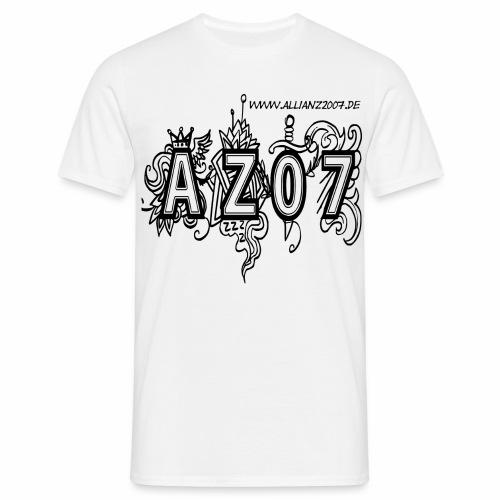 azlogoblack - Männer T-Shirt