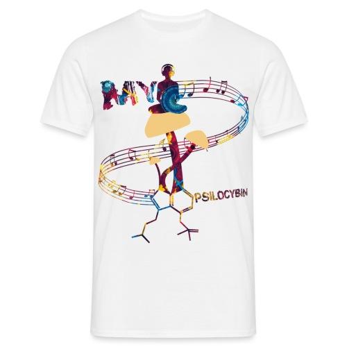 My Psilocybin (Dark) - T-shirt herr
