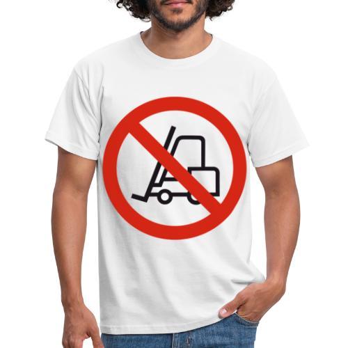 Stapler Crew Stagehand - Männer T-Shirt