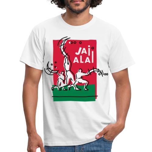 Pelotaris Jai Alai   Cesta Punta Pelota - Camiseta hombre