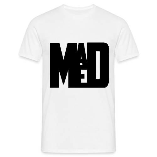 Maddem logo (Black) - Men's T-Shirt