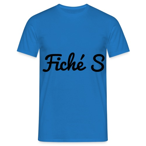 Fiché S - T-shirt Homme