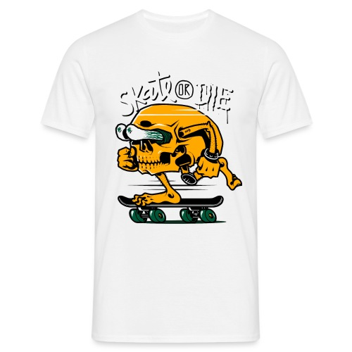 skate or die - Maglietta da uomo