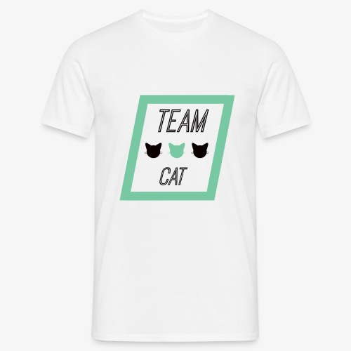 Team Cat - Slogan Tee - Koszulka męska