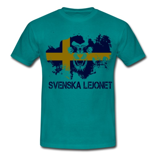 Svenska Lejonet Official Chest Logo - T-shirt herr