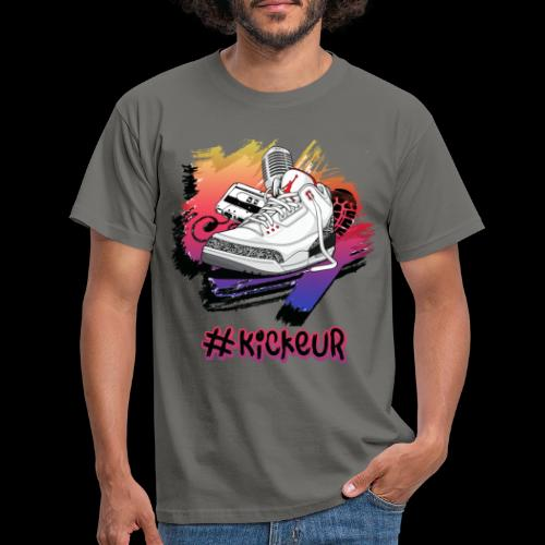 #Kickeur Noir - T-shirt Homme