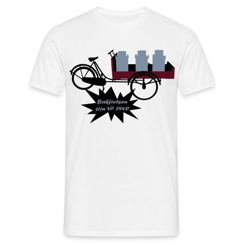 Bakfietsen zijn zo 1941! - Mannen T-shirt
