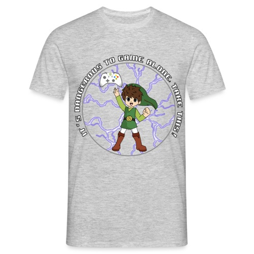 Dangerous To Game Alone - Men's T-Shirt