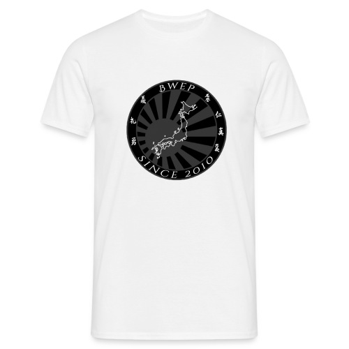 BWEP Imperial Noir/Blanc - T-shirt Homme