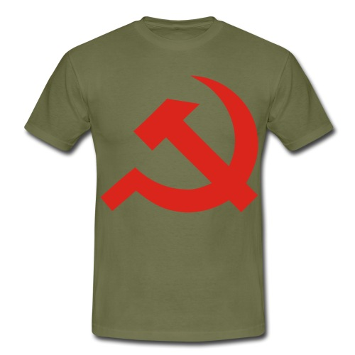 red Hammer and Sickle - T-shirt Homme