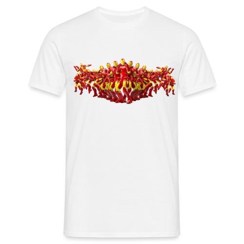 "Iron Man ""FLYING KICK"" - Männer T-Shirt"