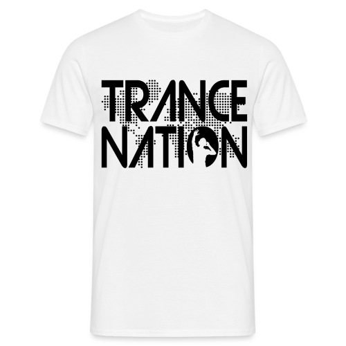 Trance Nation (Black) - T-shirt herr
