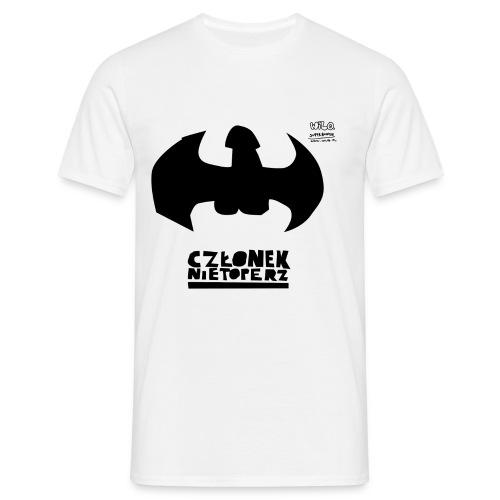 czlonek nietoperz - Koszulka męska