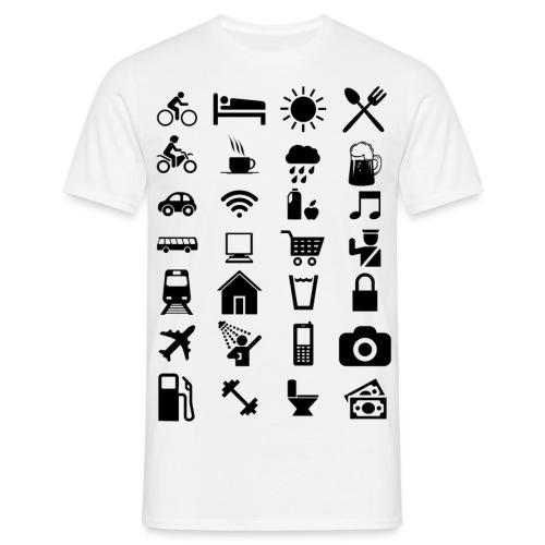 T-shirt de voyage à l'étranger - T-shirt Homme