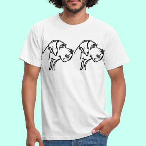 Große Dogge - Männer T-Shirt