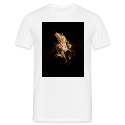 Bonfire Print - Men's T-Shirt