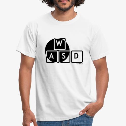 WASD Gaming is Life - Men's T-Shirt