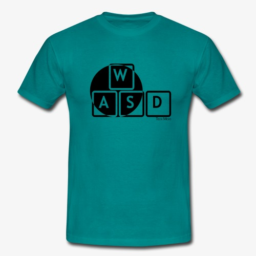 WASD Gaming is Life - Men's T-Shirt