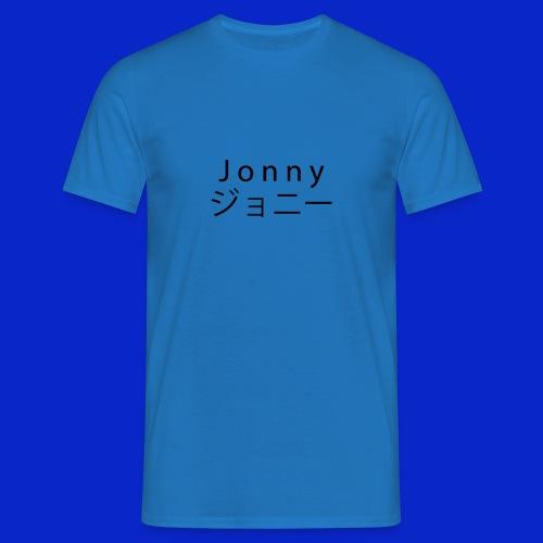 J o n n y (black) - Men's T-Shirt