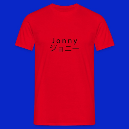 J o n n y (black) - Men's T-Shirt