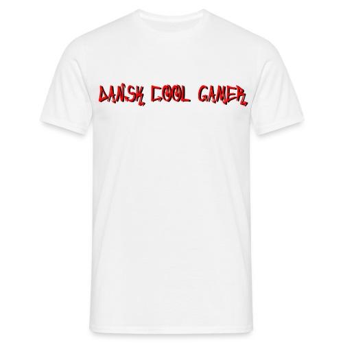 Dansk cool Gamer - Herre-T-shirt