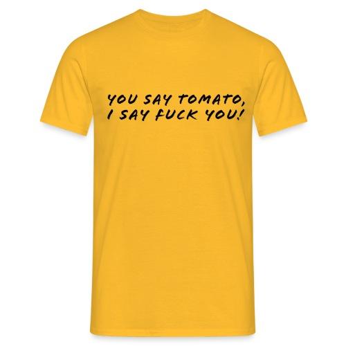 tomato - T-shirt herr