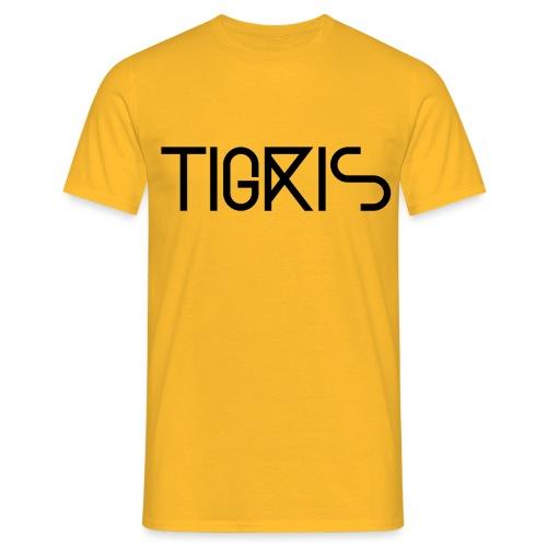 Tigris Vector Text Black - Men's T-Shirt