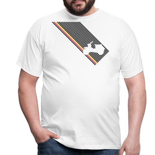 schwalbe streifen diagonal - Männer T-Shirt