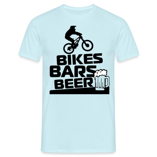 BIKE BARS BEER - Camiseta hombre
