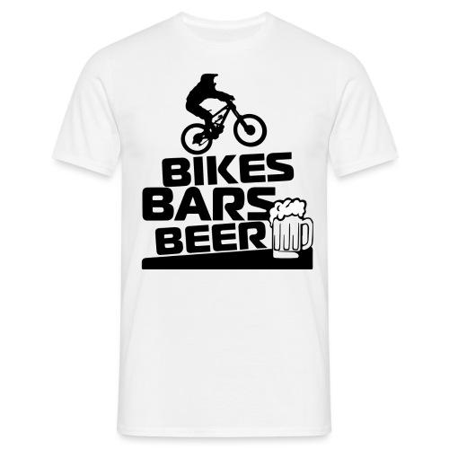 BIKE BARS BEER - Camiseta hombre