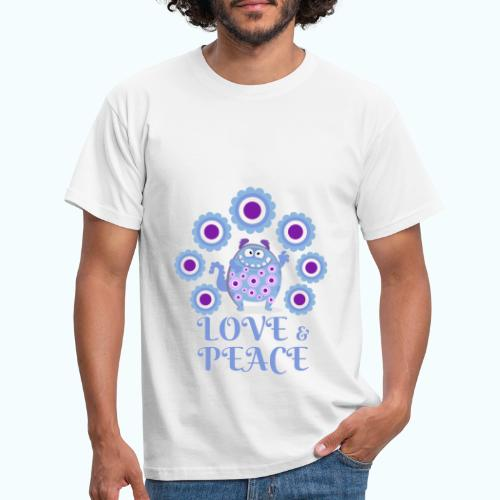 Hippie monster - Men's T-Shirt