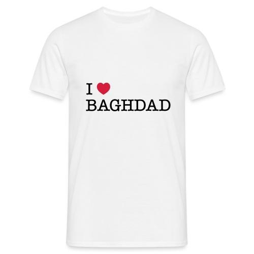 I LOVE BAGHDAD - Men's T-Shirt