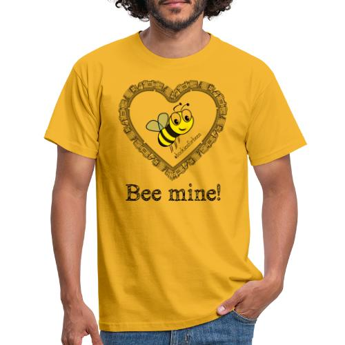 Bees3-1 save the bees | bee mine! - Men's T-Shirt