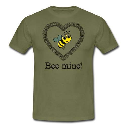Bees3-2 save the bees | bee mine! - Men's T-Shirt