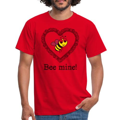 Bees3-2 save the bees   bee mine! - Men's T-Shirt