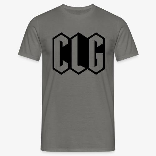 CLG DESIGN black - T-shirt Homme