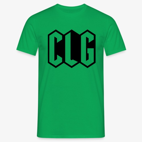 CLG DESIGN black - T-shirt Homme