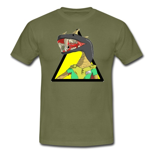 Snaked - Men's T-Shirt