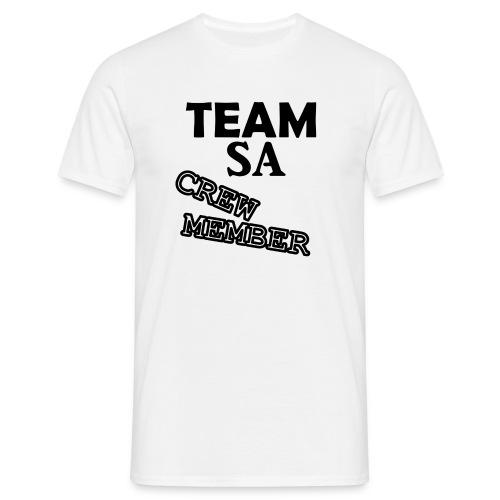 Team SA Crew Member Logo - T-shirt herr
