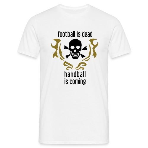 Football is dead - Männer T-Shirt