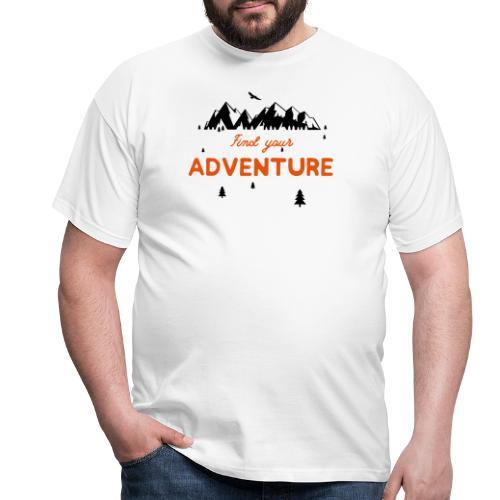CERCA L'AVVENTURA - Maglietta da uomo