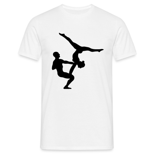 AcroYoga Counterbalance - Männer T-Shirt