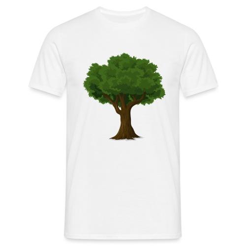 Ek träd - T-shirt herr