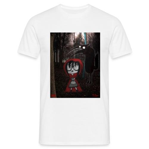 ridinghood jpg - Men's T-Shirt